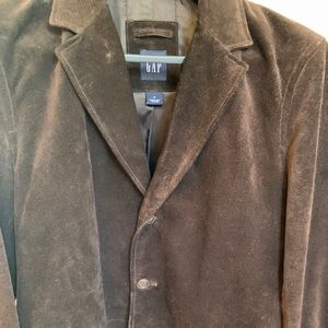 Gap men's suede jacket